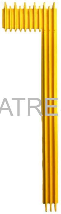 Демаркационная линия ступени правая сторона (1 вариант) С.11-2 эскалатора ЛАТРЭС LE6